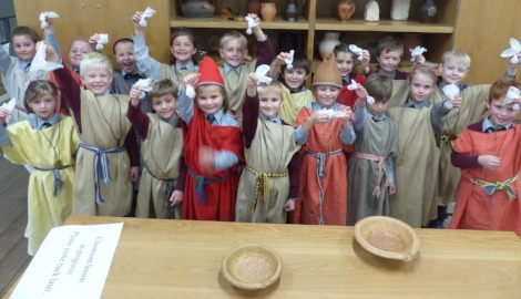 Form I Trip to Chedworth Roman Villa