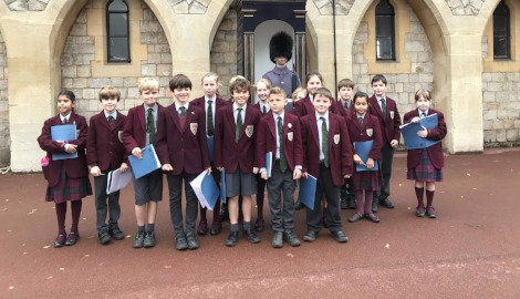 Form III visit Windsor Castle