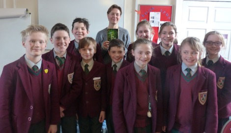 Author, Harriet Goodwin, visits Ashfold