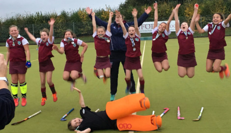 U11 Girls Hockey Success