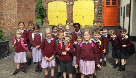 Pre-Prep III visit the Roald Dahl Children's Gallery