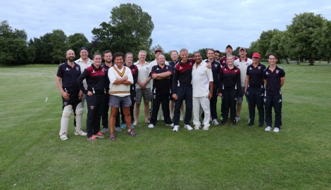 Staff v Parents Cricket