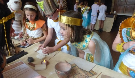 Form II Ancient Egyptians Day