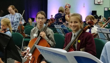 Nautical Orchestral Day at Downe House