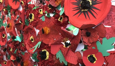 Centenary Poppies Installation