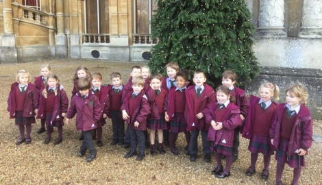 Pre-Prep II join the Christmas Carnival at Waddesdon