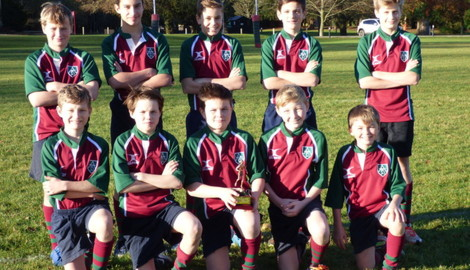 U13 Boys win Rugby 7s Tournament