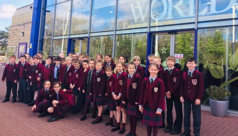 Form II visit Cadbury World