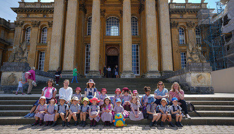 PPII's Trip to Blenheim Palace Gardens