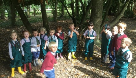 Forest School begins!