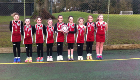 Ashfold wins St Hugh's U12 Netball Tournament