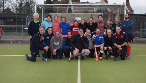 Staff & Parents Hockey
