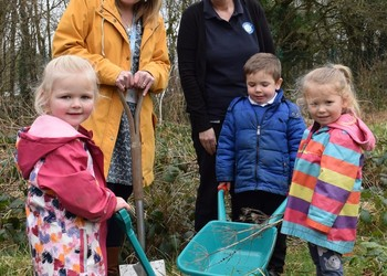 Green fingers at Trailblazers Nursery
