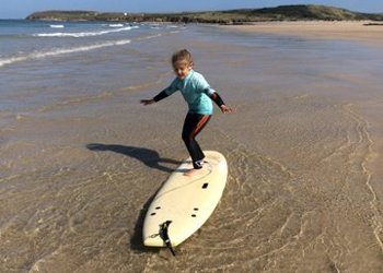 Riding the waves at Penryn Primary