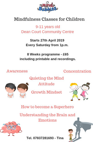 New mindfulness classes for children