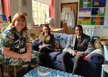 Aureus school shortlisted for national mental health award