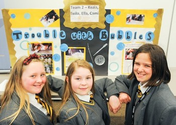 Aureus School's young scientists in university finals