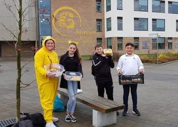 Raising money for Children In Need