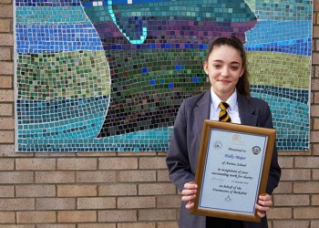 Award for big-hearted Holly