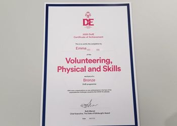 First Aureus students to receive The Duke of Edinburgh's Certificate