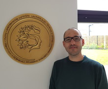Mike Page with Aureus Coin