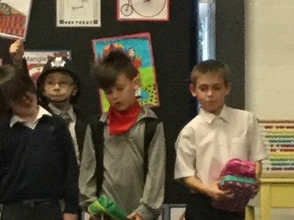 Year 3/4 Victorian Production 2018