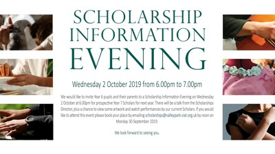Valley Park School Scholarship Information Evening