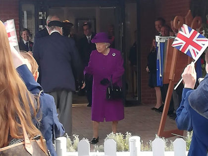 The Queen - Whole School Visit