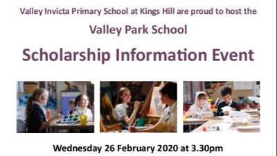 Valley Park School Scholarship Information Event
