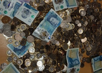 Over one thousand pounds raised for charity on non-uniform day!