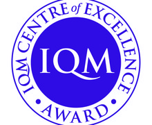 IQM Centre of Excellence Award logo   Purple   small