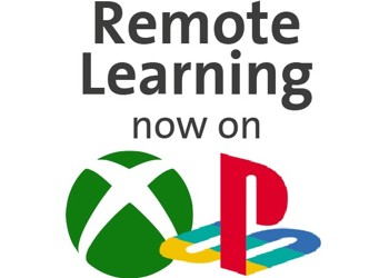 Remote Learning on XBOX or PLAYSTATION