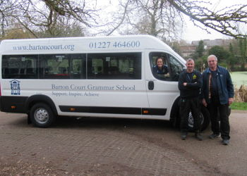 Brand New Mini Buses for Barton Court Academy Trust