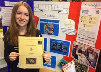 Ella wins University of Oxford Commendation