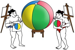 Sumo beachball