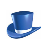 Thinking Hat   Blue