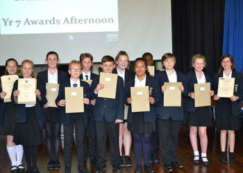 Year 7 Awards Afternoon