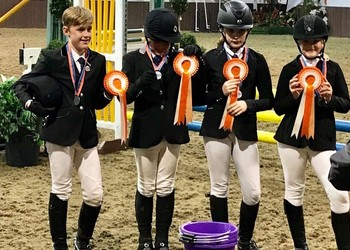 BCGS Equestrian Team come 7th in the Nationals