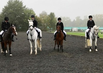Equestrian Team at the National Finals in Buckinghamshire