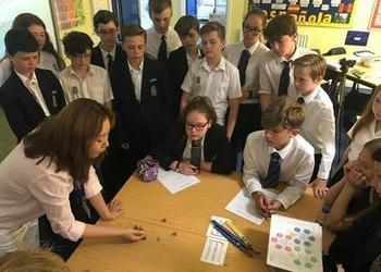 BCGS Students enjoy a taster of Korean Culture