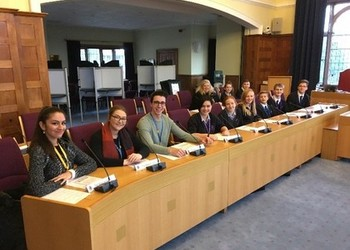 Student Council - visit to Reigate & Banstead Council