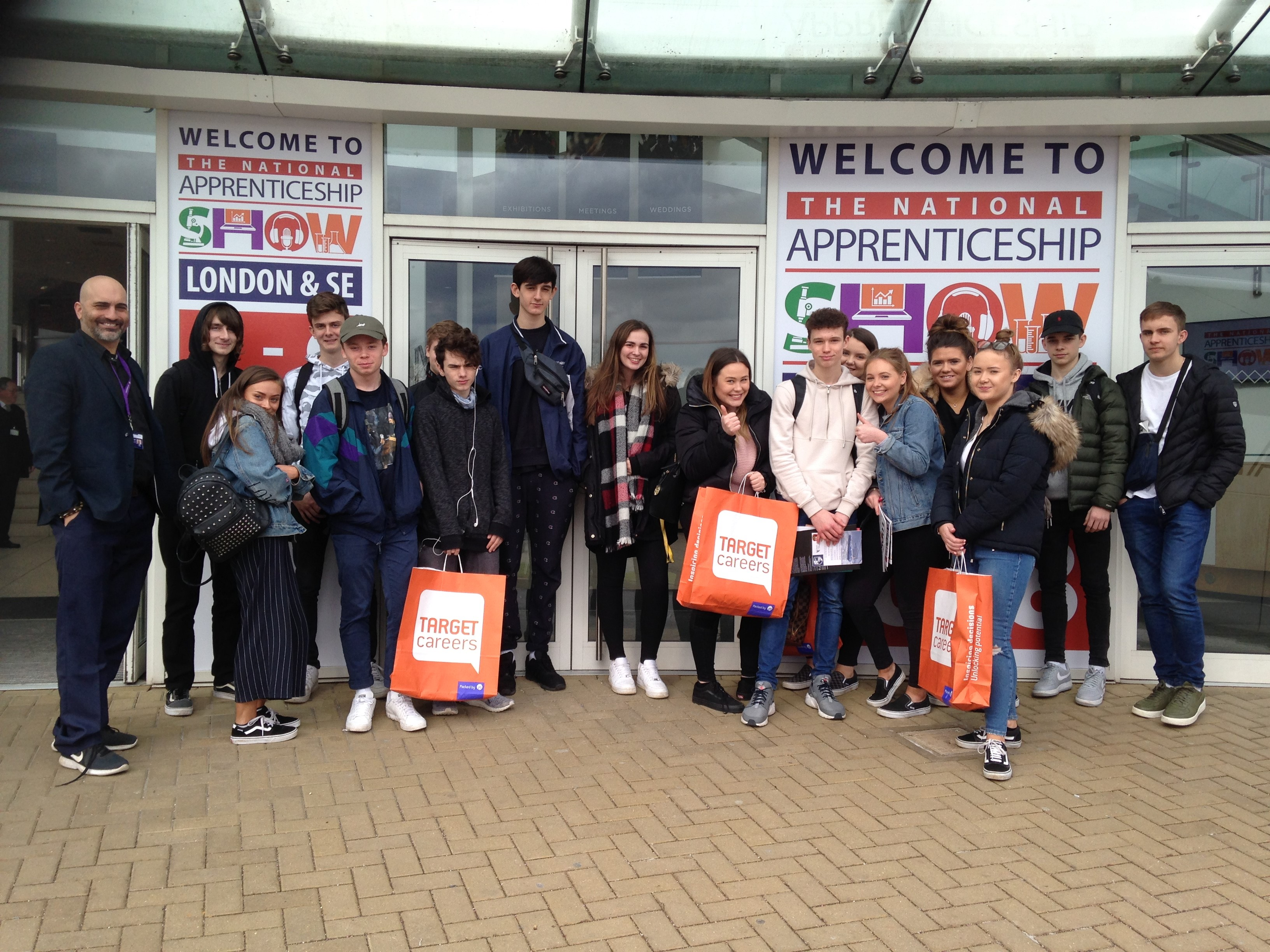 Year 12 visit to the national apprenticeship show 2018
