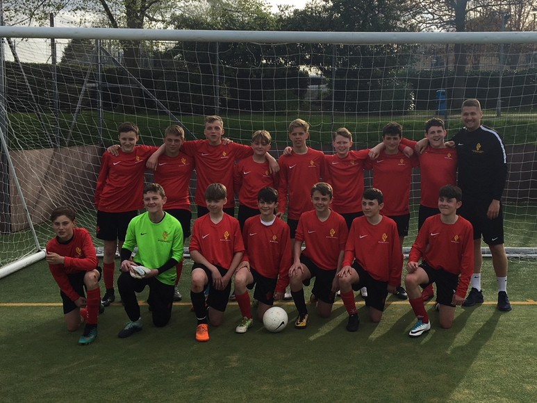 Year 9 football team 2018
