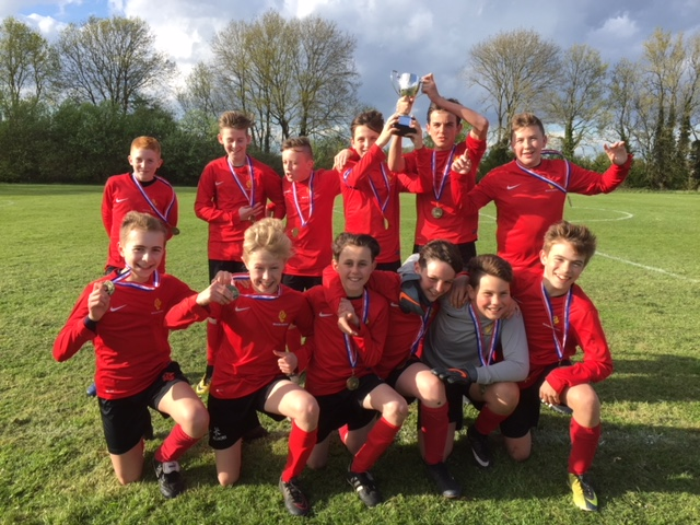Year 7 football team cup 2018
