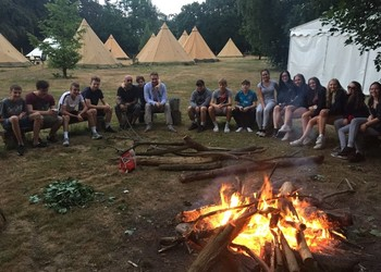 Year 11 transition into sixth form team building Trip at High Ashurst