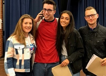 Top grades success for our Sixth Form students