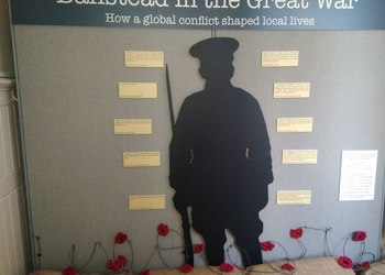 The Beacon School Remembrance Exhibition in Banstead