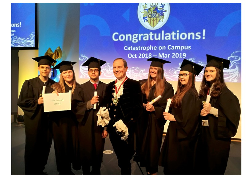 Year 10 graduation at the university of surrey