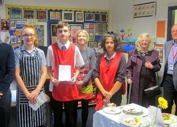 Rotary Young Chef Competition - heat winner