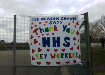 The Beacon School - says Thank you Key NHS Workers